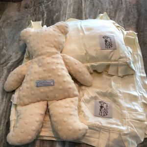 Little Giraffe & Baby Cottontail baby set